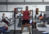 وزنهبرداری قهرمانی جهان| علی داودی رکورد یکضرب جوانان دنیا را شکست