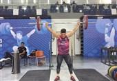وزنهبرداری قهرمانی جهان  ششمی عارف خاکی در حرکت یکضرب
