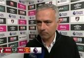 فوتبال جهان  ژوزه مورینیو: آنقدر افتضاح بودیم که بین دو نیمه گفتم من خوششانسترین سرمربی لیگ برترم!