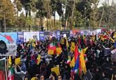 بازتاب جهانی راهپیمایی 13 آبان: ایرانیها علیرغم تحریمها مرگ بر آمریکا گفتند