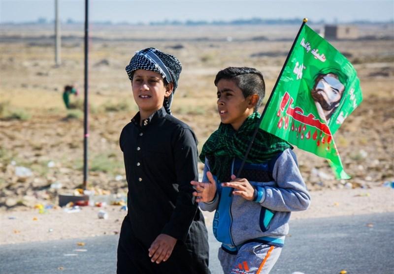 مرز مهران میزبان هزاران دلداده مکتب سرخ حسینی شد؛ استقرار بزرگترین ناوگان اتوبوسی در مرز