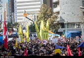 راهپیمایی 13 آبان در کاشان برگزار شد+فیلم