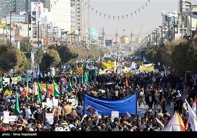 راهپیمایی 13 آبان - مشهد