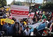گلستان| ترامپ آرزوی تاثیر تحریمها بر ملت ایران را به گور می برد+ فیلم