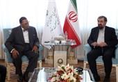 دیدار دبیر مجمع تشخیص مصلحت نظام با رهبر جنبش امت اسلام آمریکا