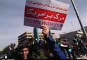 حضور حماسی مردم شهرستانهای استان تهران در مراسم راهپیمایی 13 آبان به روایت تصویر
