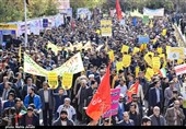 سمنان|ملت ایران 40 سال در دفاع از انقلاب اسلامی درخشیدهاند+فیلم