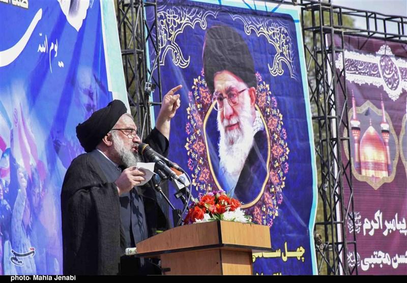 بهمن تماشایی 97  حجتالاسلام خاتمی در همدان: ملت ایران امروز نقشهها و تحریمهای دشمنان را نقش بر آب کرد