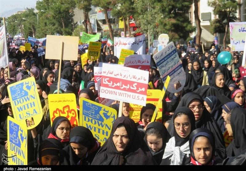 مسیرهای راهپیمایی یوم الله 13 آبان روز در استان سمنان اعلام شد
