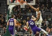 لیگ NBA|شکست سنگین وریرز در اوکلند/ پیروزی تاندر با درخشش جرج