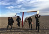رزمایش سپاه|انهدام پهپاد دشمن فرضی توسط یگانهای پدافند نیروی زمینی سپاه
