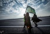 شعر شاعر مشهدی برای کاروانهای پیاده حریم رضوی