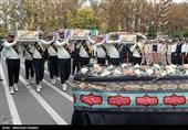 3 شهید گمنام در ستاد فرماندهی ناجا به خاک سپرده شد