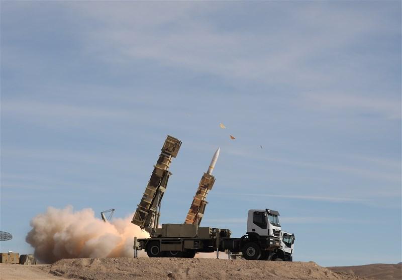 رزمایش پدافند هوایی|تست نسخه بهینهسازیشده از 2 سامانه موشکی