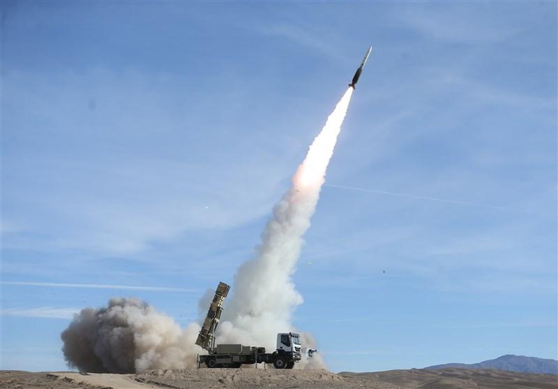 رزمایش پدافند هوایی| شلیک ۳ موشک صیاد۲ و سرنگونی اهداف ۳گانه + عکس