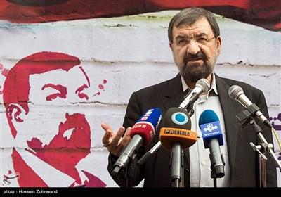 سخنرانی محسن رضایی در راهپیمایی آخرین نبرد