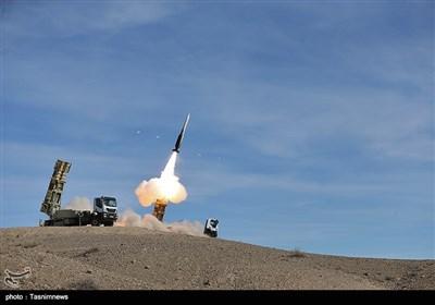 شلیک موشک صیاد از سامانه موشکی تلاش