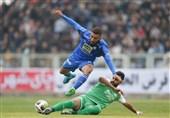 لیگ برتر فوتبال| تساوی یک نیمهای ماشینسازی و استقلال