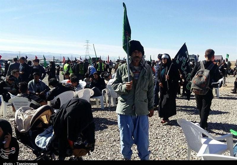 32000 زائر پیاده رضوی وارد مشهدالرضا(ع) شدند