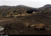 نخستین غار مسکونی ایران در ارومیه+تصاویر