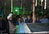 خوزستان| نخستین یادواره شهید گمنام مدفون در دانشگاه خاتمالانبیاء بهبهان برگزار شد