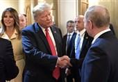 پوتین و ترامپ در پاریس دیدار کردند