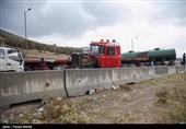 تصادف زنجیرهای در فارس 3 کشته و 15 مجروح برجای گذاشت