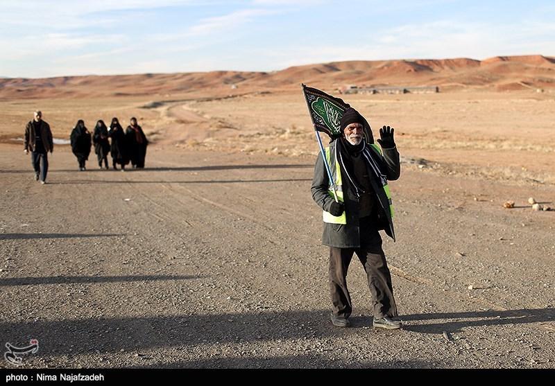 پیاده روی زائران امام رضا (ع) - مشهد