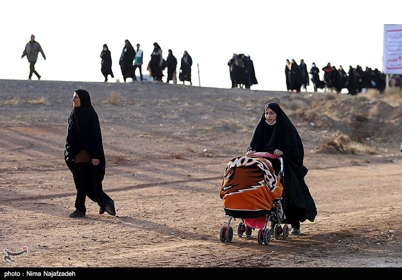 126000 زائر تاکنون پیاده وارد مشهدالرضا(ع) شدند