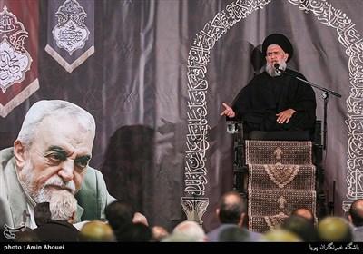 سخنرانی حجت الاسلام سید حسین مومنی در پنجمین سالگرد حبیب الله عسگراولادی
