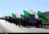 بجنورد| کاروانهای حرم مطهر رضوی در مسیرهای خراسان شمالی به روایت تصویر