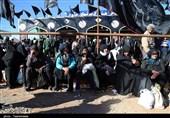 حال و هوای زائران پیاده در سالروز شهادت شمس الشموس+فیلم