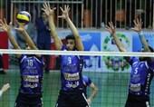 لیگ برتر والیبال| پیروزی آسان شهراری ورامین در خانه
