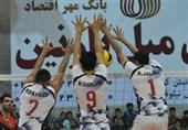 لیگ برتر والیبال| شهرداری ورامین در صدر تنها شد