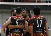 تیم والیبال شهرداری ارومیه بازنده دربی آذربایجان