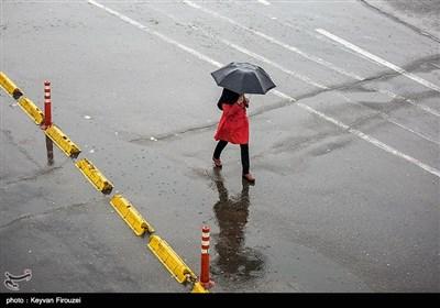 بارش باران و آبگرفتگی معابر -سنندج