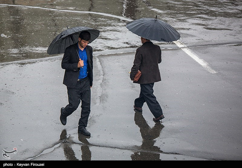 آخرین وضعیت بارشهای ایران/ کمترین میزان رشد در شمال کشور+جدول