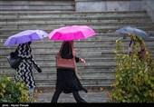"""تهران رکورد """"بارش باران"""" را زد/ پایتخت پربارشتر از رشت + جدول بارشها"""