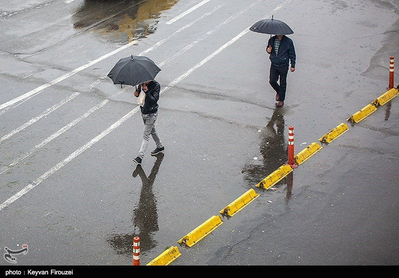 آخرین وضعیت بارشهای ایران/ادامه پاییز پرباران و مخازن خالی سدها+جدول