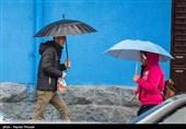 هواشناسی امروز 97/08/21|بارش باران و آب گرفتگی معابر عمومی در برخی مناطق کشور