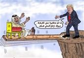 کاریکاتورهای جهان عرب: از مجسمه آزادی نتانیاهو تا دروغهای شاخدار بنسلمان!