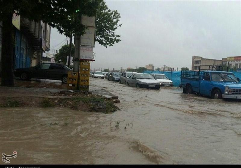خوزستان| جاده هندیجان به دیلم مسدود شد
