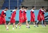 بوشهر| تمرینات آمادهسازی تیم پارس جنوبی جم برای دیدار با پیکان تهران