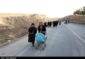 پیاده روی زائران امام رضا(ع)