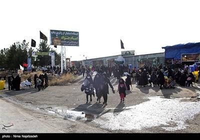 ایستگاه های خدمات رسانی به زائران پیاده حرم مطهر رضوی