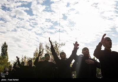 عزاداری 28 صفر نیروهای مسلح در مصلی تهران