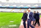 بازدید داورزنی از ورزشگاه آزادی