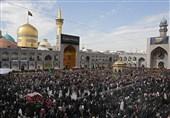 احیاء اکثر من 5. 3 ملایین زائر فی مشهد بذکرى استشهاد الامام الرضا ( ع)