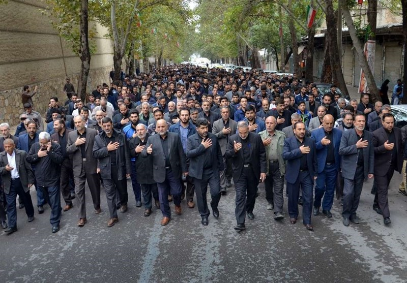 """""""کردستان"""" پایتخت وحدت اسلامی کشور در سوگ رحلت پیامبر(ص) ماتم زده شد"""