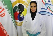 کاراته قهرمانی جهان| نشان ارزشمند برنز بر گردن سارا بهمنیار